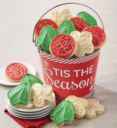 'Tis the Season Cookie Pail