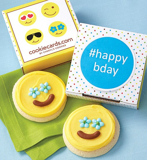 happybday Cookie Card
