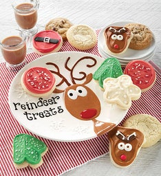 Collector's Edition Reindeer Plate