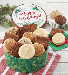 Gluten Free Happy Holidays Gift Tin