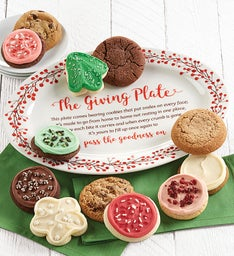 Collectors Edition Holiday Giving Plate