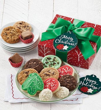 Holiday Treats Box - Happy Holidays