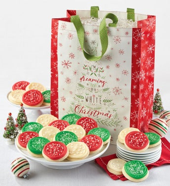 Holiday Cookies and Tote