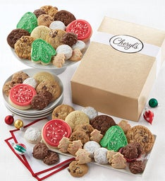 Shimmering Holiday Cookie Gift Box