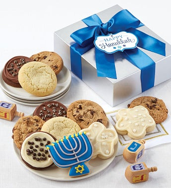 Hanukkah Cookie Gift Boxes