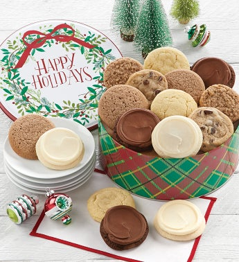 Sugar Free Happy Holidays Gift Tin