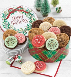 Happy Holidays Gift Tin - Create Your Own Assortment