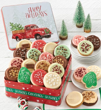 Grand Traditions Happy Holidays Gift Tin