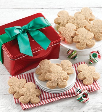 Cheryls Ginger Shortbread Cookie Gift Tin