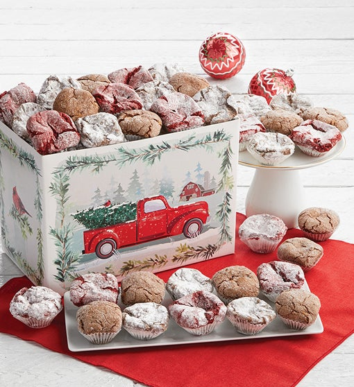 Holiday Truffle Cookie Gift Box