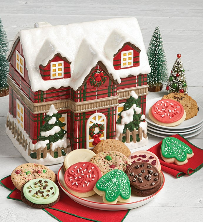 Collector's Edition Chalet Cookie Jar