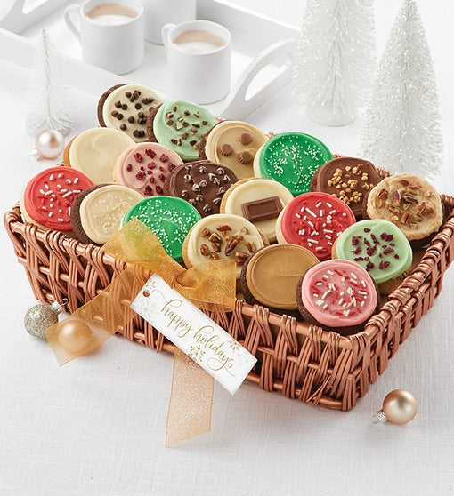 Buttercream Frosted Flavors Cookie Gift Basket - Medium