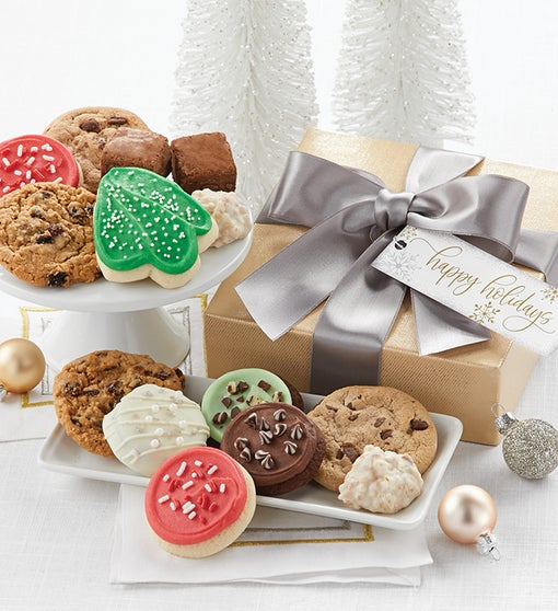 Happy Holidays Sparkling Treats Gift Box