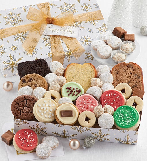 Happy Holidays Sparkling Bakery Assortment - Medium