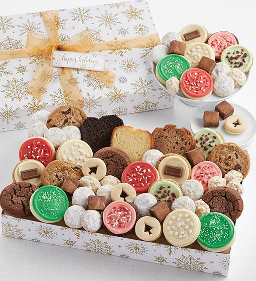 Happy Holidays Sparkling Bakery Assortment - Large