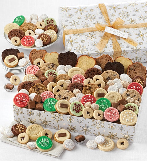 Happy Holidays Sparkling Bakery Assortment - Premier