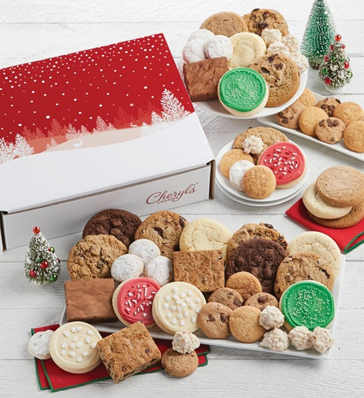 Festive Holiday Bakery Gift Box - Large