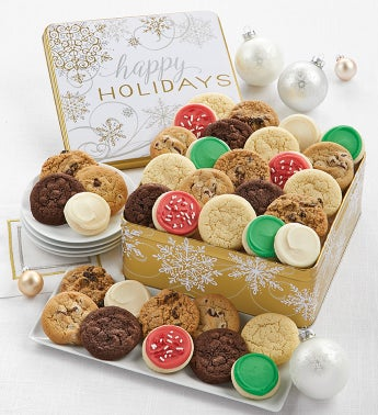 Grand Sparkling Holiday Gift Tin