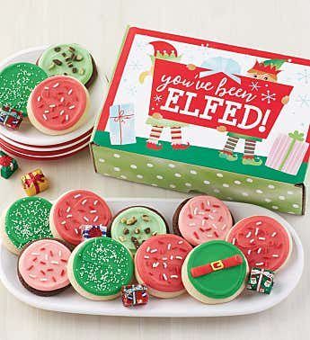 You've Been Elfed Treats Box