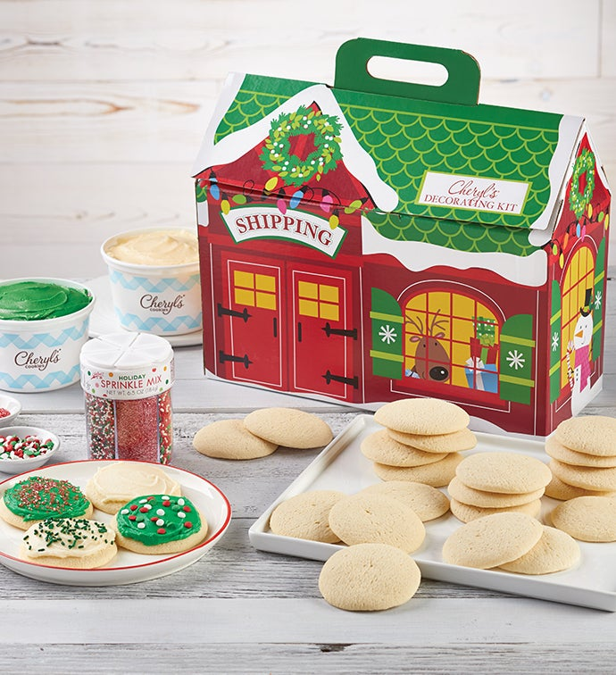 Cheryl's Holiday Cut-Out Cookie Decorating Kit