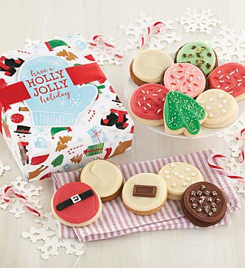 Winter Wishes Cookie Boxes