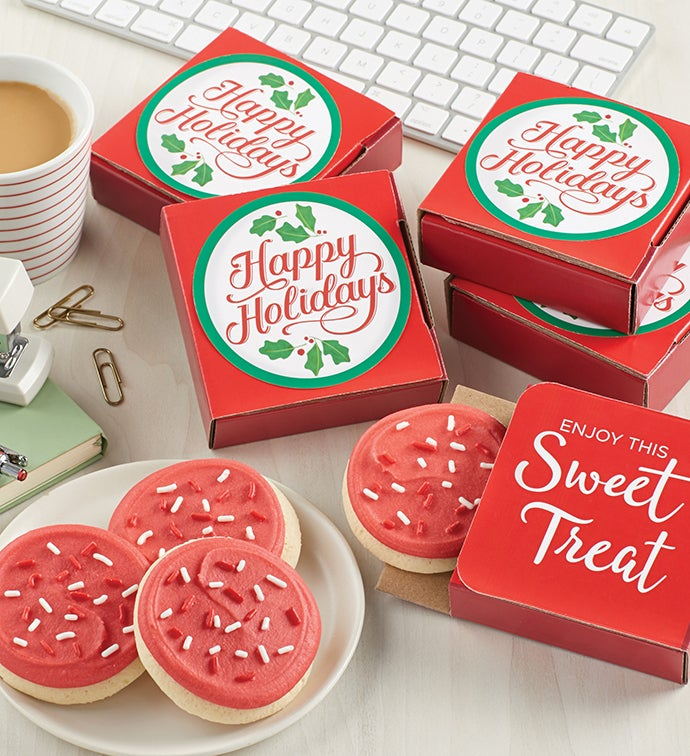 Happy Holidays Cookie Card - Case of 48