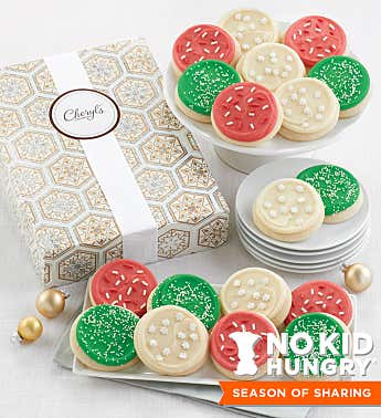 Cheryl's Cookies® Sparkly Holiday Cookie Box