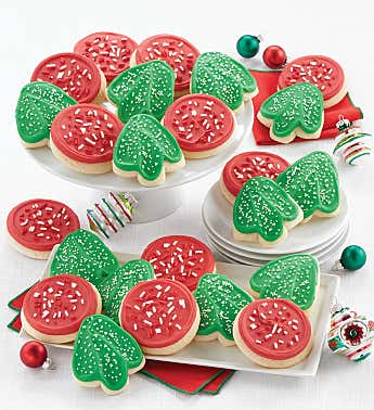 Buttercream Frosted Holiday Cut-out Cookies