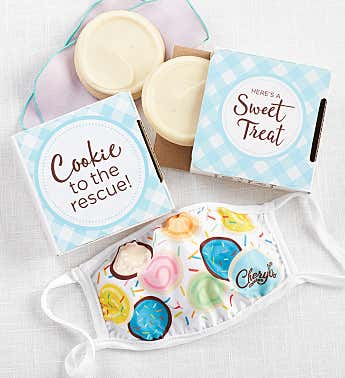 Cookie to the Rescue Cookie Card with Face Mask