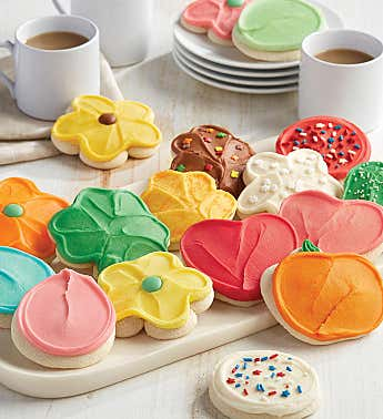 Buttercream Frosted Cut-out Cookie of the Month Pre-pay and SAVE Club