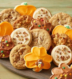 Classic Thanksgiving Cookie Assortment