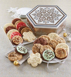 Joy of the Season Gift Tin - 24 Assorted Cookies