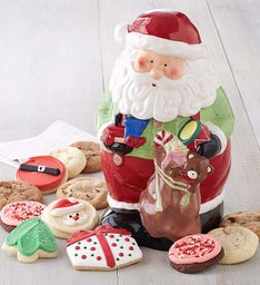 Collector's Edition Santa Cookie Jar