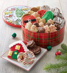 Holiday Tidings Gift Tin - Treats