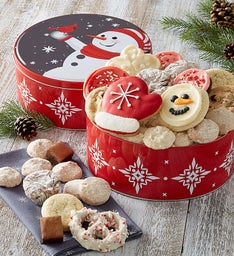 Holiday Cheer Gift Tin - Treats