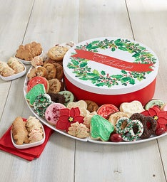 Holiday Wreath Box