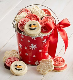 Snowflake Cookie Pail