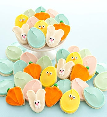 Frosted Easter Cutouts