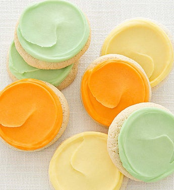 Flavor of the Month Frosted Citrus Cookies