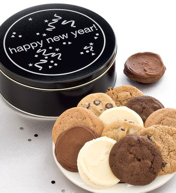 Happy New Year Gift Tin
