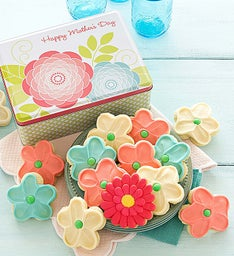 Mother's Day Gift Tin - Buttercream Cut-outs
