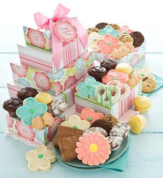 Mother's Day Bakery Gift Tower
