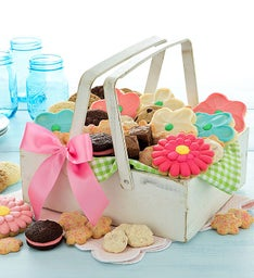 Mother's Day Whitewash Gift Basket