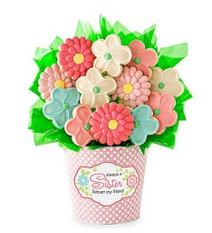 Sister Cookie Flower Pot