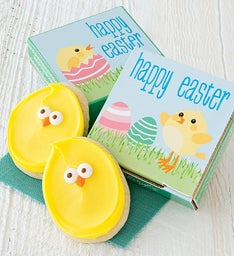 Happy Easter Cookie Card