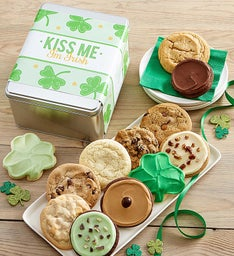 St Patricks Day Kiss Me I'm Irish Create Your Own Gift Tin