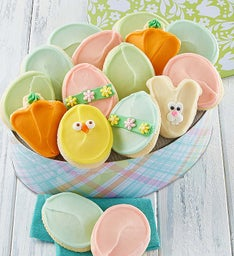 Easter Gift Tin - Buttercream Frosted Cut-outs