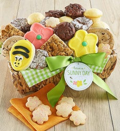 Sunny Day Medium Dessert Gift Basket