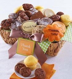 Thank You Dessert Basket - Medium