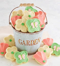 Garden Pail with Cookies